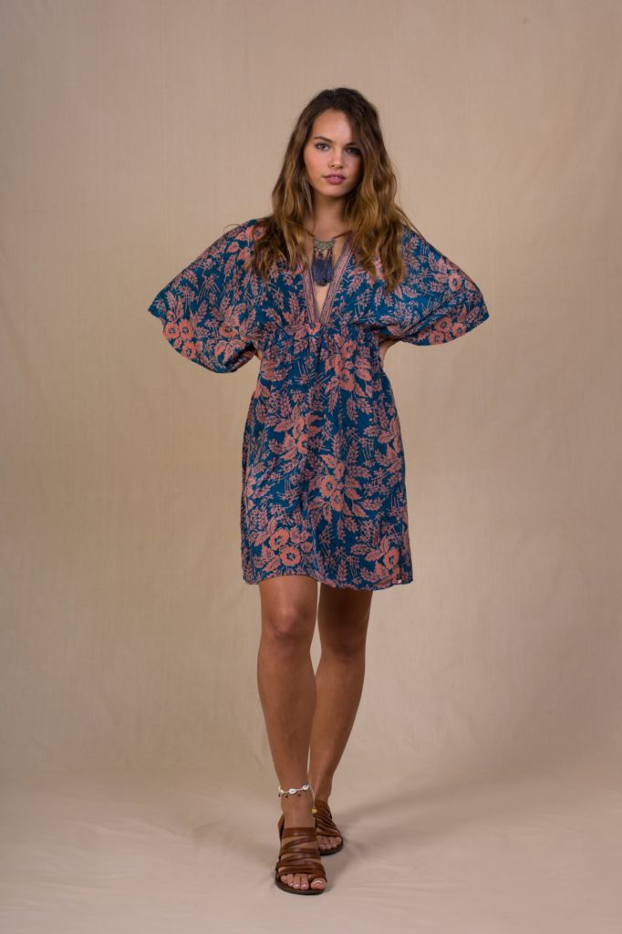 Ischia Short Dress floral